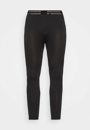SEAMLESS BODYWEAR LONG - Tights - black