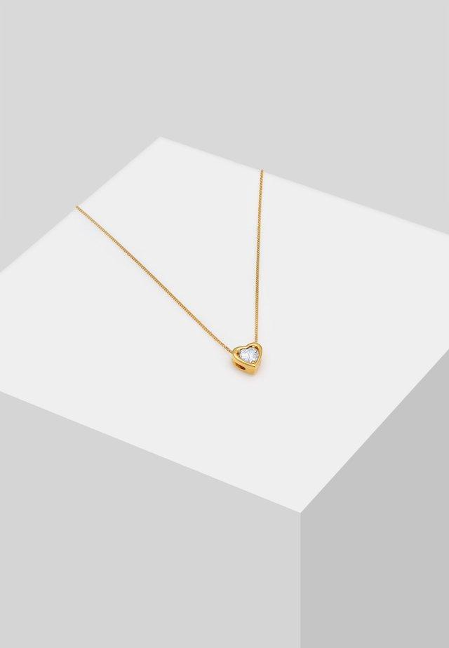 HERZ - Ketting - gold