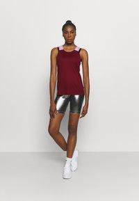 Nike Performance - DRY ELASTIKA TANK - Camiseta de deporte - dark beetroot/beyond pink - 1
