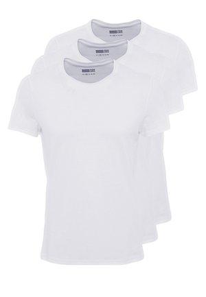 3 PACK - T-shirt basic - white