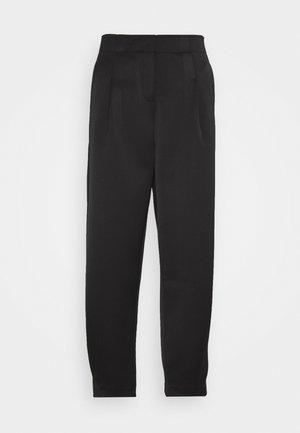 KISA - Kalhoty - black