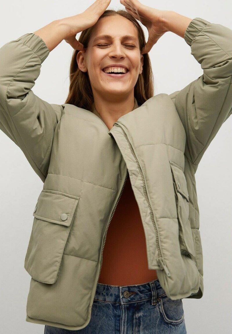 Mango - COLETTE-I - Winter jacket - kaki