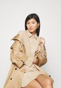 Opus - WESA - Shirt dress - macadamia - 3
