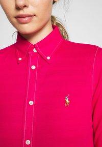 Polo Ralph Lauren - HEIDI LONG SLEEVE - Button-down blouse - sport pink - 5