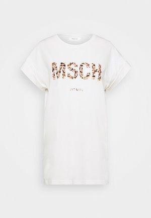 ALVA TEE - Print T-shirt - egret/merila print