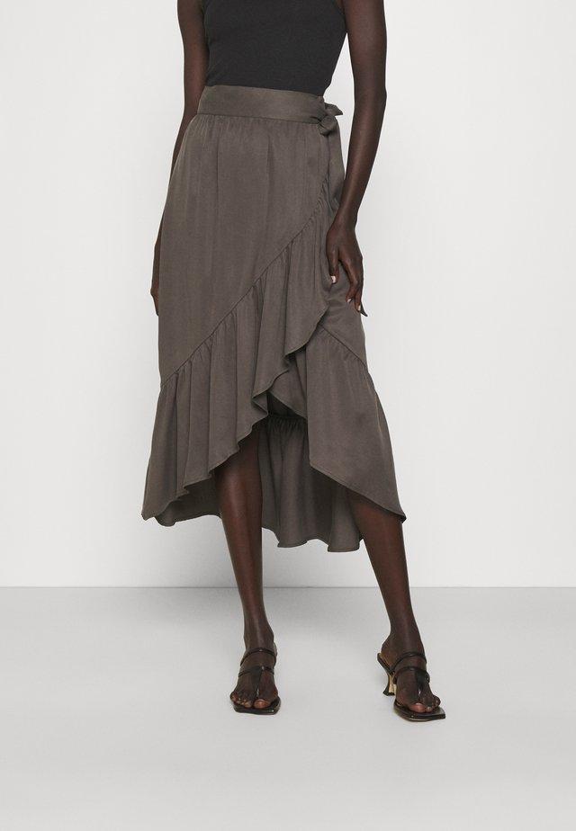 MORA THINKTWICE - A-line skirt - beluga