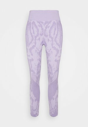 RUSH SEAMLESS ANKLE - Tights - purple
