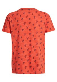 WE Fashion - Print T-shirt - orange - 4