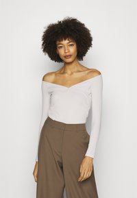Guess - SONAY - Long sleeved top - ivory bone - 0