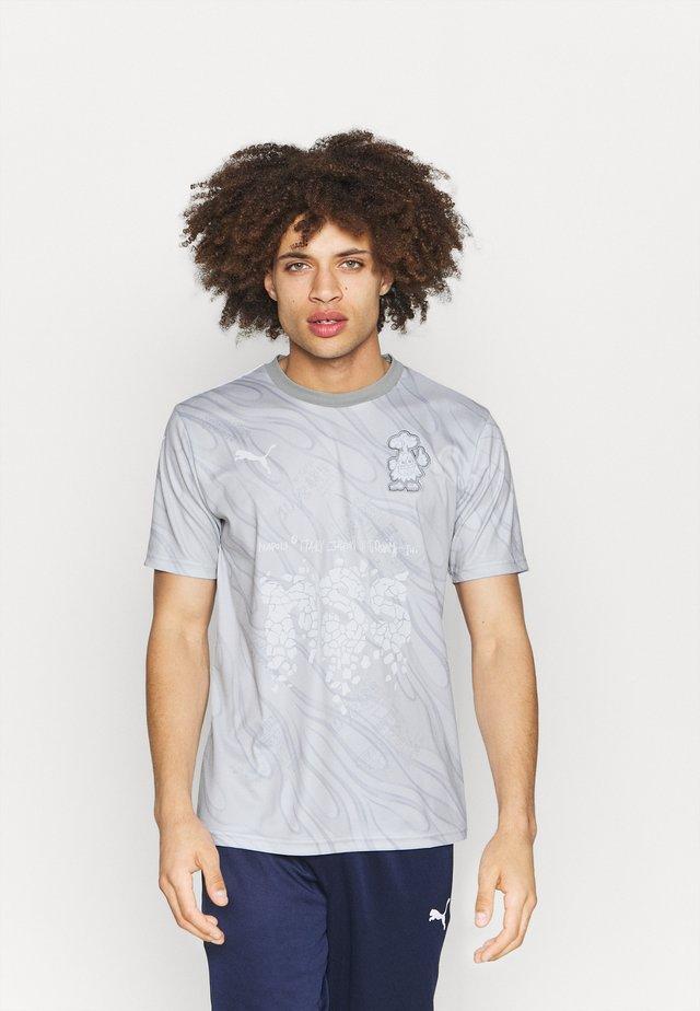 NSS - Camiseta estampada - gray violet/white