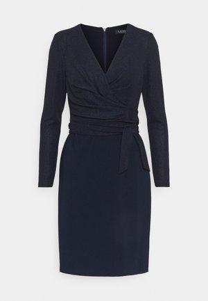 BONDED DRESS COMBO - Shift dress - lighthouse navy