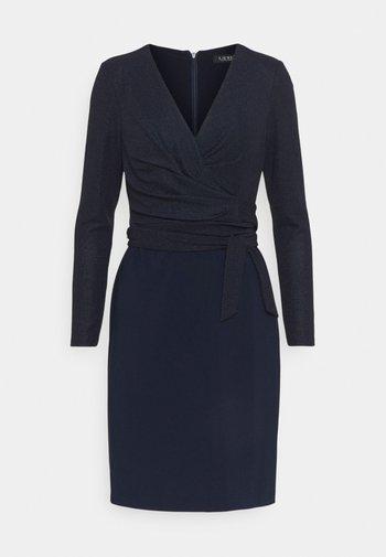 BONDED DRESS COMBO - Pouzdrové šaty - lighthouse navy