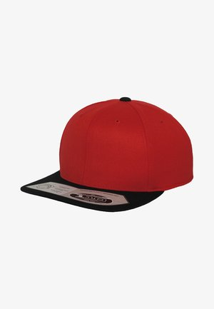 Kšiltovka - red/ black