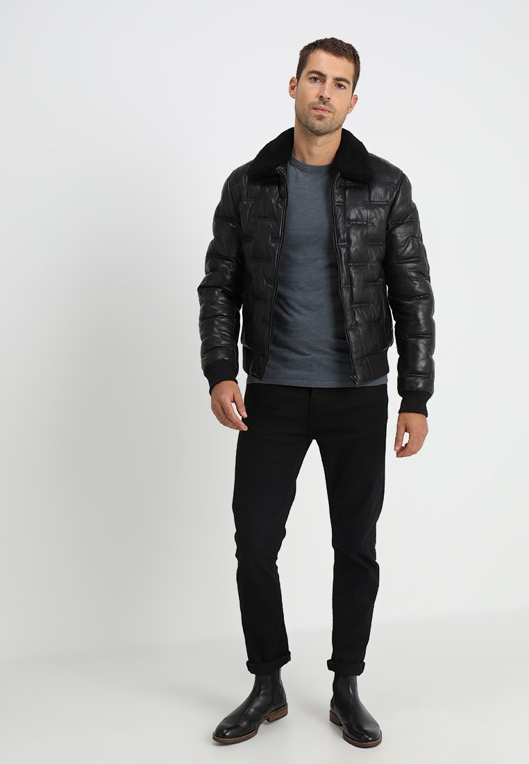 Homme TAYLOR - Veste en cuir