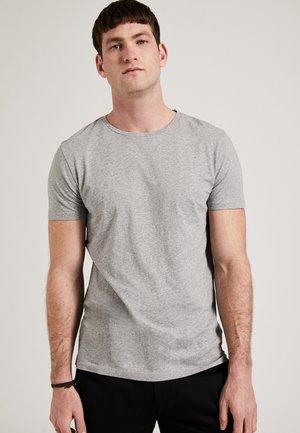 THE ROUND NECK - T-shirt basic - grey