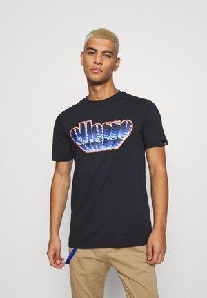 MULTIZIO TEE - Print T-shirt - navy