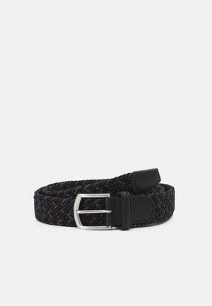 STRECH BELT UNISEX - Braided belt - multi-coloured