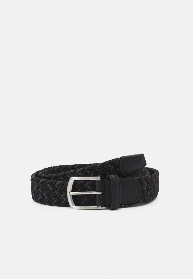 STRECH BELT UNISEX - Pletený pásek - multi-coloured