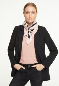 comma - Foulard - rosewood placed print - 1