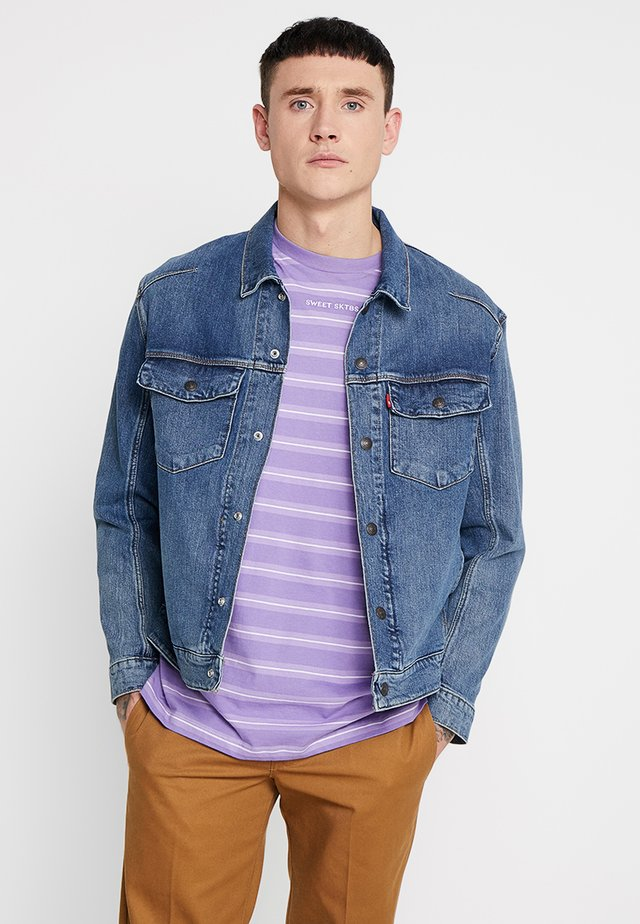 LEJ TRUCKER - Veste en jean - perseus indigo
