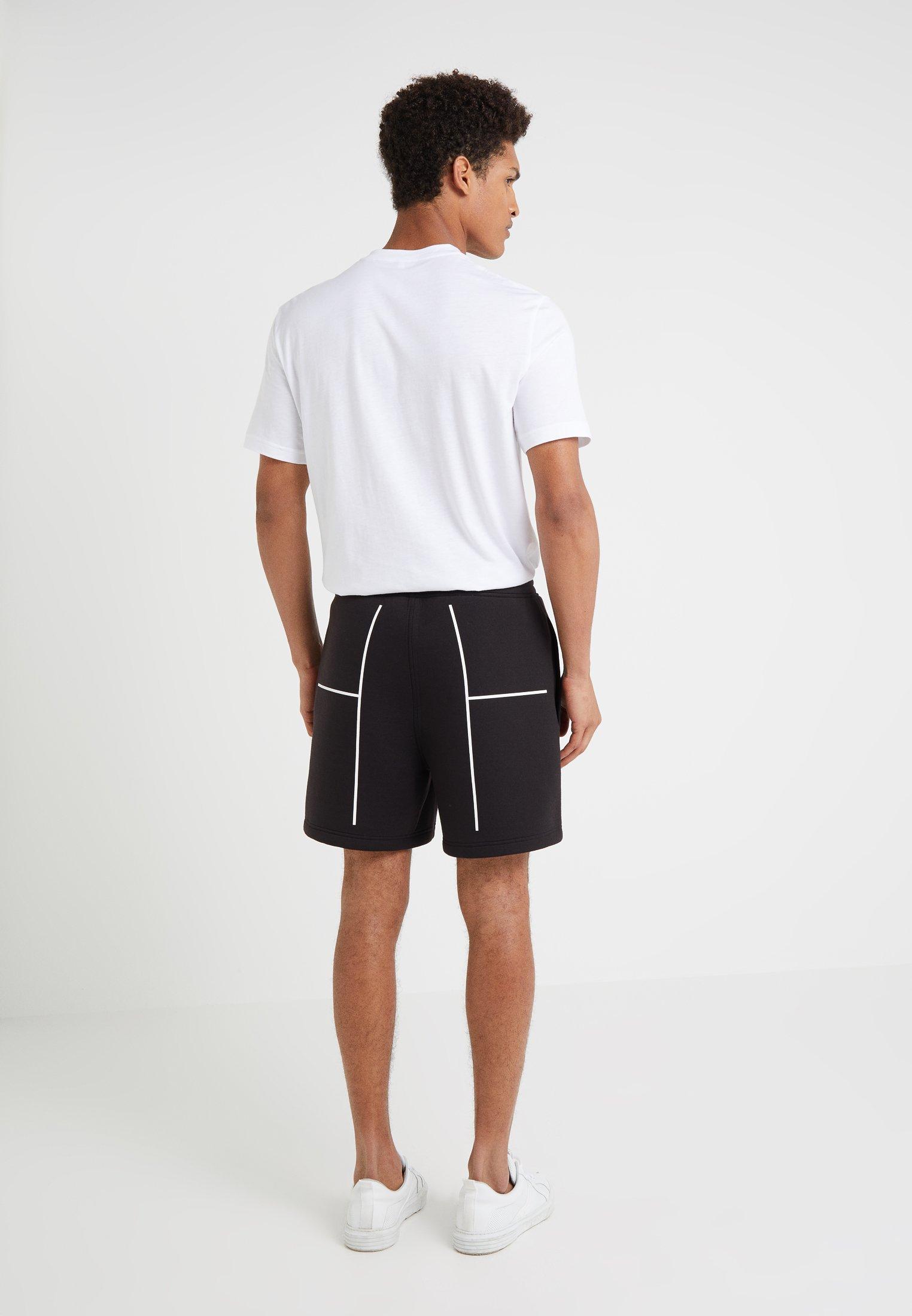 Neil Barrett BLACKBARRETT COURTLINES - Shorts - black