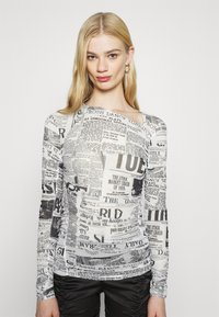 Weekday - MARGERIE LONG SLEEVE - Long sleeved top - white - 0