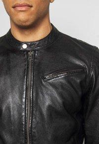 Freaky Nation - EASY JIM - Leather jacket - black - 5