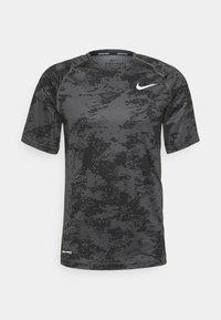 Nike Performance - SLIM  - Triko spotiskem - iron grey/white - 0