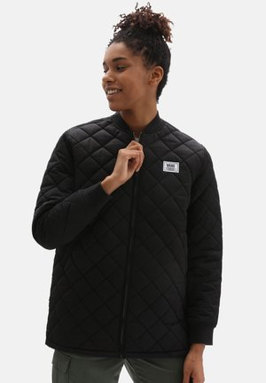 WM BOOM BOOM 66 LONG JACKET - Light jacket - black