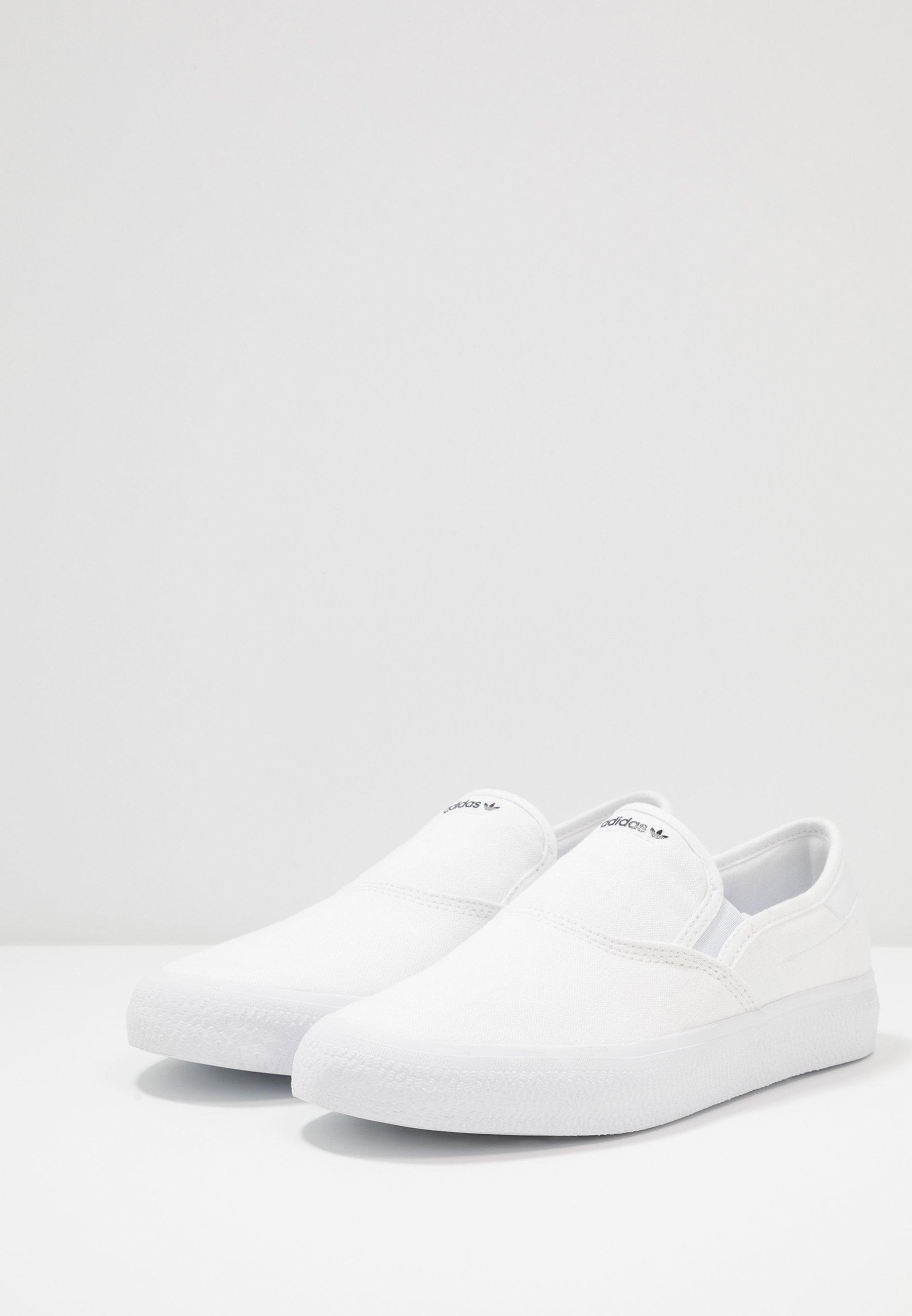 adidas Originals 3MC - Mocassins - footwear white/core black - Mocassins & Chaussures bateau femme À bas prix