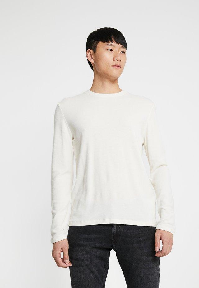 CLIVE - Maglietta a manica lunga - egg white