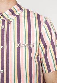 Kickers Classics - VERTICAL STRIPE SHORT SLEEVE SHIRT - Shirt - multi-coloured - 5