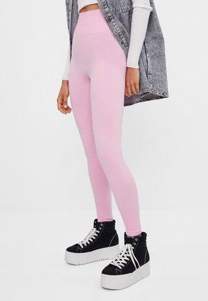 SEAMLESS - Legíny - pink