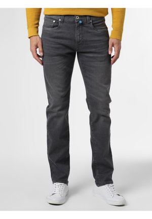 Slim fit jeans - grau