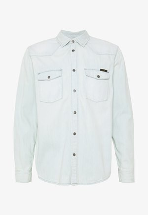 GEORGE - Skjorta - light-blue denim