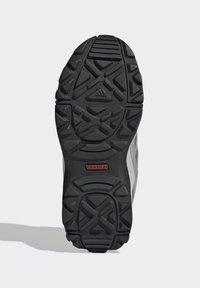 adidas Performance - TERREX HYPERHIKER LOW LEATHER HIKING SHOES - Trekingové boty - grey - 4