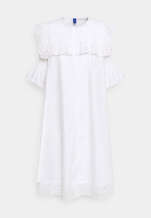 DREW DRESS - Blousejurk - white