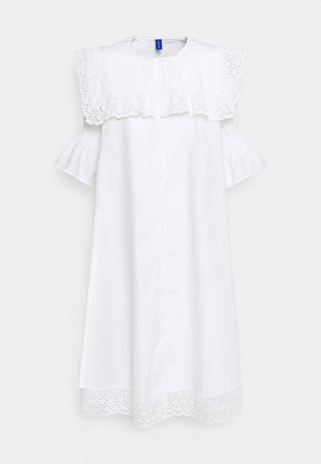 DREW DRESS - Skjortekjole - white