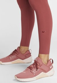 Nike Performance - ONE LUXE - Tights - dark red - 5