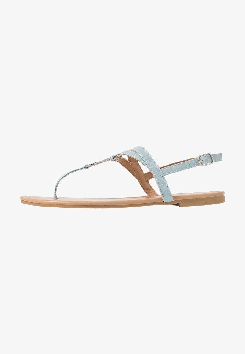 New Look - HOOPER - Flip Flops - mid blue