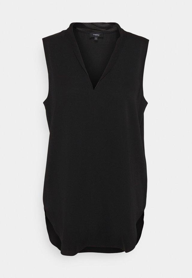 SHELL CORE - Bluse - black