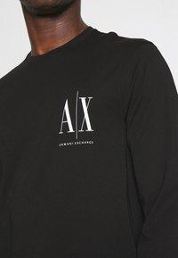 Armani Exchange - Long sleeved top - black - 4