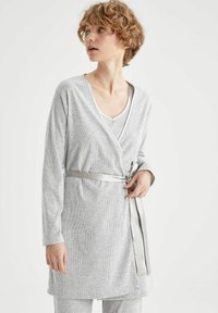 DeFacto - Dressing gown - grey - 3
