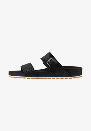 MALIBU WAVES SLIDE - Pantolette flach - black