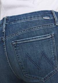 Mother - LOOKER ANKLE FRAY - Jeans Skinny Fit - blue denim - 3