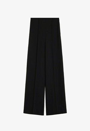 JUSTO-I - Kalhoty - zwart