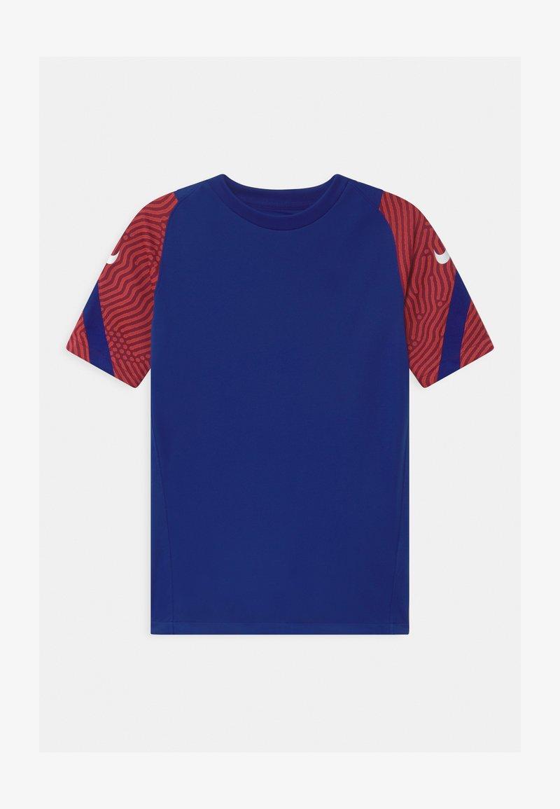 Nike Performance - Print T-shirt - deep royal blue/dark beetroot/white