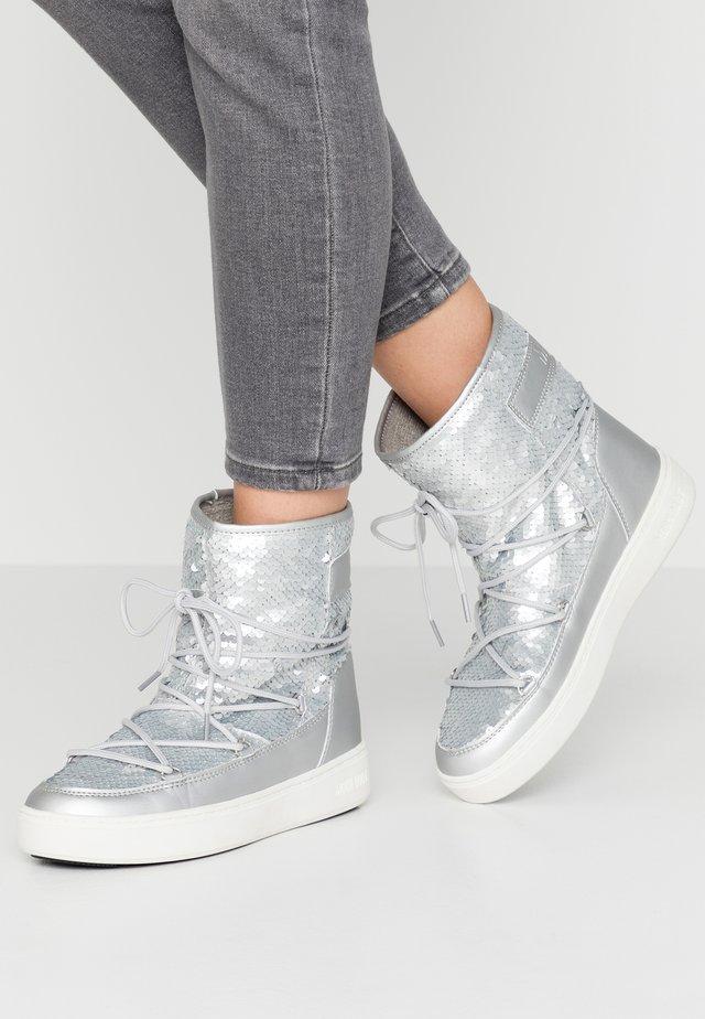 PULSE MID DISCO  - Vinterstøvler - silver