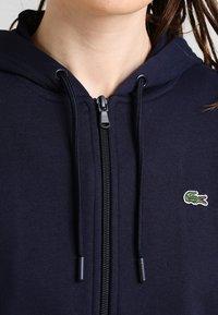 Lacoste Sport - WOMEN TENNIS - Zip-up hoodie - navy blue - 3