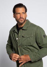 JP1880 - Denim jacket - khaki - 2